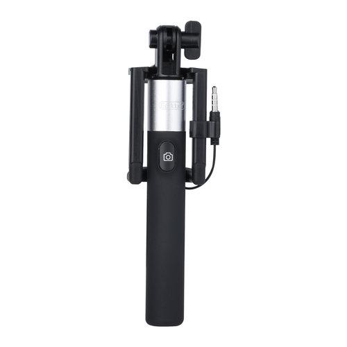 Earldom Zwart Selfie Stick