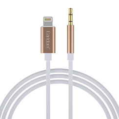 AUX Audio to Lightning Cable - Gold