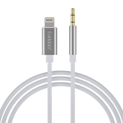 AUX Audio to Lightning Cable - Silver