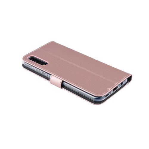 Andere merken Samsung Galaxy A50 Book type housse Titulaire de la carte Rose Or