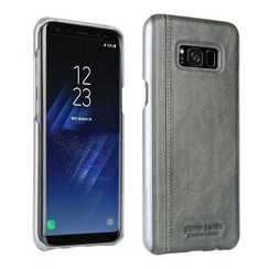 Pierre Cardin Backcover voor Samsung Galaxy S8 - Grey