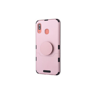 Samsung Galaxy A30 Rood Backcover hoesje Soft Touch