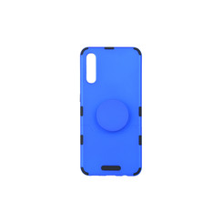 Samsung Galaxy A50 Blauw Backcover hoesje Soft Touch