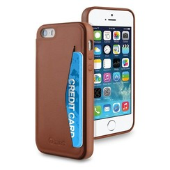 Muvit Backcover voor Iphone 5/5S -  Bruin