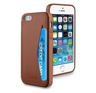 Muvit Backcover voor Iphone 5/5S -  Bruin
