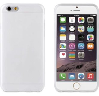 Muvit BackCover Voor Iphone 6/6S -Wit