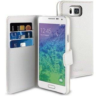 Muvit Book Case Voor Samsung Galaxy S6- Wit