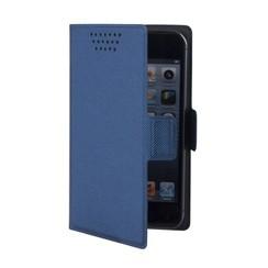 "Muvit Book Case Universal 4"" - Blauw"