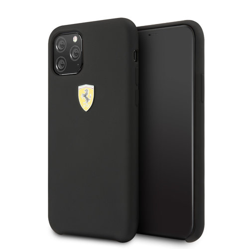 Ferrari Apple iPhone 11 Pro Back cover case Ferrari FESSIHCN58BK Black for iPhone 11 Pro