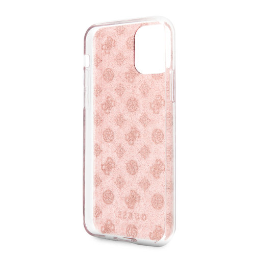 Guess Apple iPhone 11 Back cover case Guess GUHCN61TPERG Pink for iPhone 11