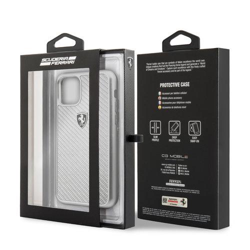 Ferrari Apple iPhone 11 Pro Back cover case Ferrari FEHCAHCN58SI Silver for iPhone 11 Pro
