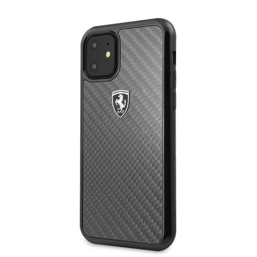 Ferrari Apple iPhone 11 Back cover case Ferrari FEHCAHCN61BK Black for iPhone 11