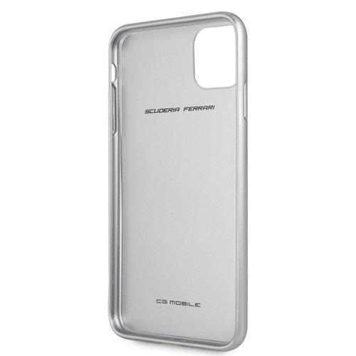 Ferrari Apple iPhone 11 Pro Max Ferrari Back-Cover hul Silber FEHCAHCN65SI - Carbon Fiber