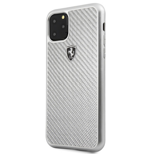 Ferrari Apple iPhone 11 Pro Max Back cover case Ferrari FEHCAHCN65SI Silver for iPhone 11 Pro Max