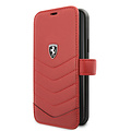 Ferrari Apple iPhone 11 Pro Ferrari Book-Case hul Rot FEHQUFLBKSN58RE - Echt leer