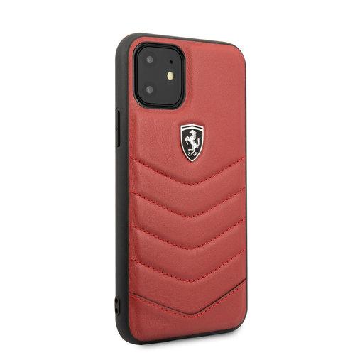 Ferrari Apple iPhone 11 Back cover case Ferrari FEHQUHCN61RE Red for iPhone 11