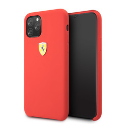 Apple iPhone 11 Pro Rood Ferrari Backcover hoesje FESSIHCN58RE - TPU - FESSIHCN58RE