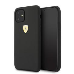 Apple iPhone 11 Ferrari Back-Cover hul Schwarz FESSIHCN61BK - TPU