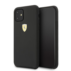 Apple iPhone 11 Zwart Ferrari Backcover hoesje FESSIHCN61BK - TPU - FESSIHCN61BK