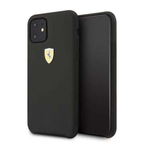 Ferrari Apple iPhone 11 Ferrari Back-Cover hul Schwarz FESSIHCN61BK - TPU