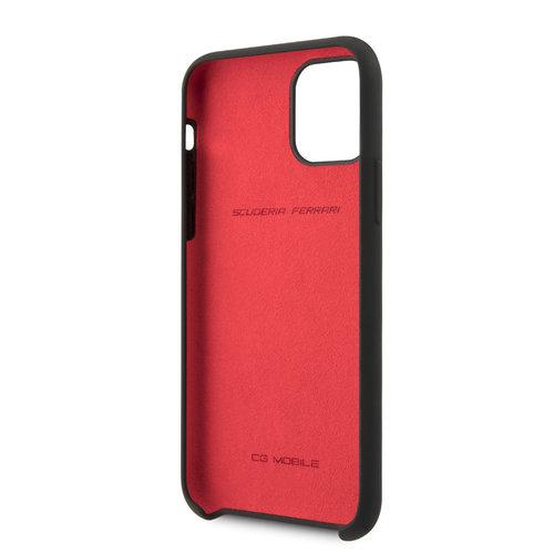 Ferrari Apple iPhone 11 Back cover case Ferrari FESSIHCN61BK Black for iPhone 11
