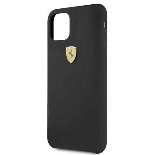 Ferrari Apple iPhone 11 Pro Max Back cover case Ferrari FESSIHCN65BK Black for iPhone 11 Pro Max