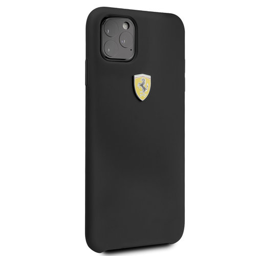 Ferrari Apple iPhone 11 Pro Max Ferrari Back-Cover hul Schwarz FESSIHCN65BK - TPU