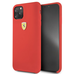 Apple iPhone 11 Pro Max Rood Ferrari Backcover hoesje FESSIHCN65RE - TPU - FESSIHCN65RE