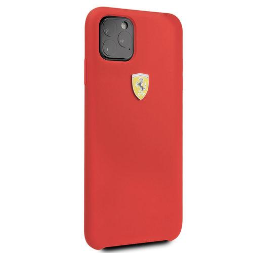 Ferrari Apple iPhone 11 Pro Max Ferrari Back-Cover hul Rot FESSIHCN65RE - TPU