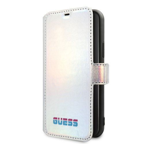 Guess Apple iPhone 11 Book type case Guess GUFLBKN61BLD Silver for iPhone 11