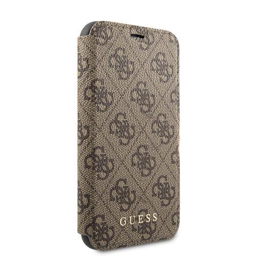 Guess Apple iPhone 11 Guess Book-Case hul Braun GUFLBKSN614GB - TPU