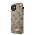 Guess Apple iPhone 11 Back cover case Guess GUHCN61G4GB Brown for iPhone 11