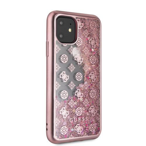 Guess Apple iPhone 11 Guess Back-Cover hul Rose Gold GUHCN61PEOLGPI - TPU