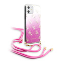 Guess Apple iPhone 11 Back cover case Guess GUHCN61WO4GPI Pink for iPhone 11