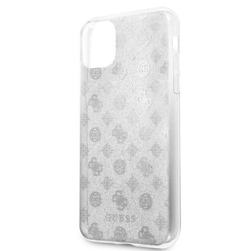 Guess Apple iPhone 11 Pro Max Back cover case Guess GUHCN65TPESI Silver for iPhone 11 Pro Max