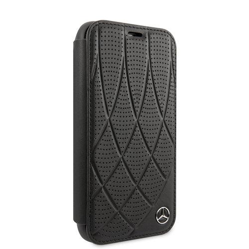 Mercedes-Benz Apple iPhone 11 Book type case Mercedes-Benz MEFLBKN61DIQBK Black for iPhone 11
