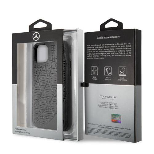 Mercedes-Benz Apple iPhone 11 Back cover case Mercedes-Benz MEHCN61DIQBK Black for iPhone 11