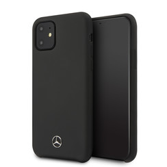 Apple iPhone 11 Zwart Mercedes-Benz Backcover hoesje MEHCN61SILBK - TPU - MEHCN61SILBK