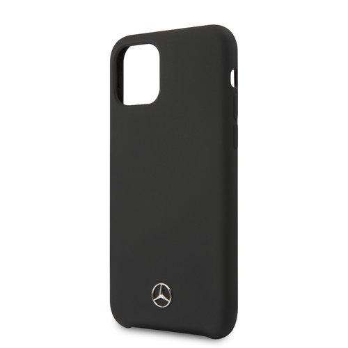 Mercedes-Benz Apple iPhone 11 Back cover case Mercedes-Benz MEHCN61SILBK Black for iPhone 11