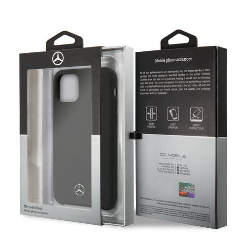 Mercedes-Benz Apple iPhone 11 Mercedes-Benz Back-Cover hul Schwarz MEHCN61SILBK - TPU
