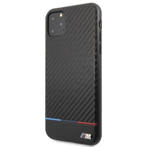 BMW Apple iPhone 11 Pro Max BMW Back-Cover hul Schwarz BMHCN65PUCARTCBK - Echt leer