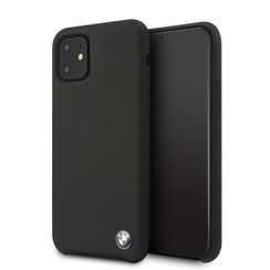 Apple iPhone 11  Back cover case BMW BMHCN61SILBK Black for iPhone 11
