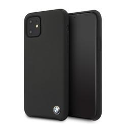 Apple iPhone 11  Zwart BMW Backcover hoesje BMHCN61SILBK - TPU - BMHCN61SILBK