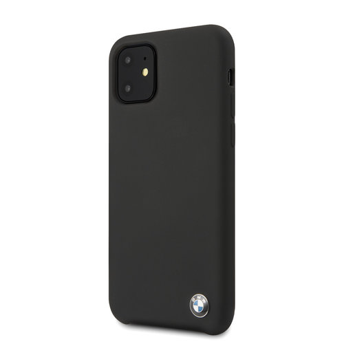 BMW Apple iPhone 11  Back cover case BMW BMHCN61SILBK Black for iPhone 11