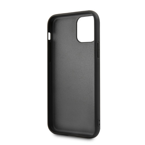 BMW Apple iPhone 11 BMW Back-Cover hul Blau BMHCN61MCARBL - Echt leer