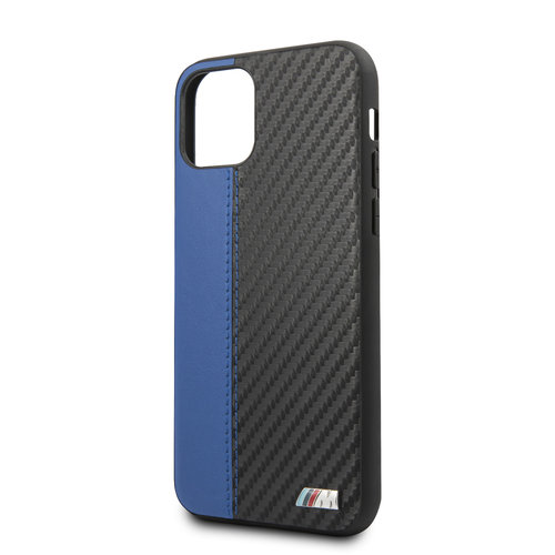 BMW Apple iPhone 11 Back cover case BMW BMHCN61MCARBL Blue for iPhone 11