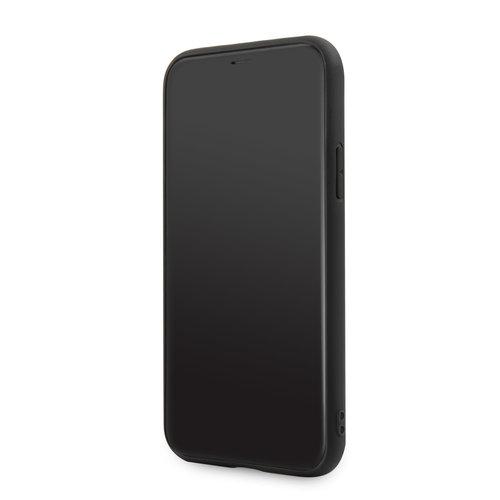 BMW Apple iPhone 11 BMW Back-Cover hul Schwarz BMHCN61LLSB - Echt leer