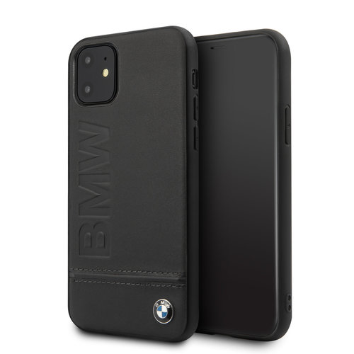 BMW Apple iPhone 11 Back cover case BMW BMHCN61LLSB Black for iPhone 11
