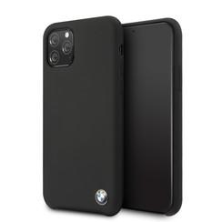 Apple iPhone 11 Pro Zwart BMW Backcover hoesje BMHCN58SILBK - TPU - BMHCN58SILBK