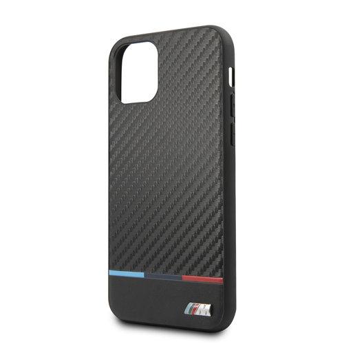 BMW Apple iPhone 11 Pro BMW Back-Cover hul Schwarz BMHCN58PUCARTCBK - Echt leer